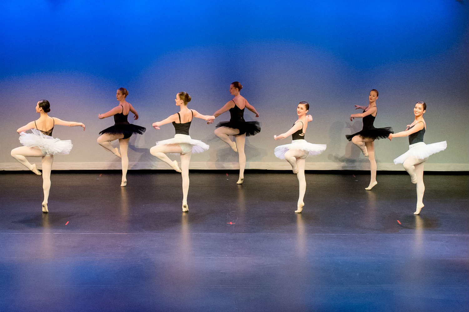 group ballet dance